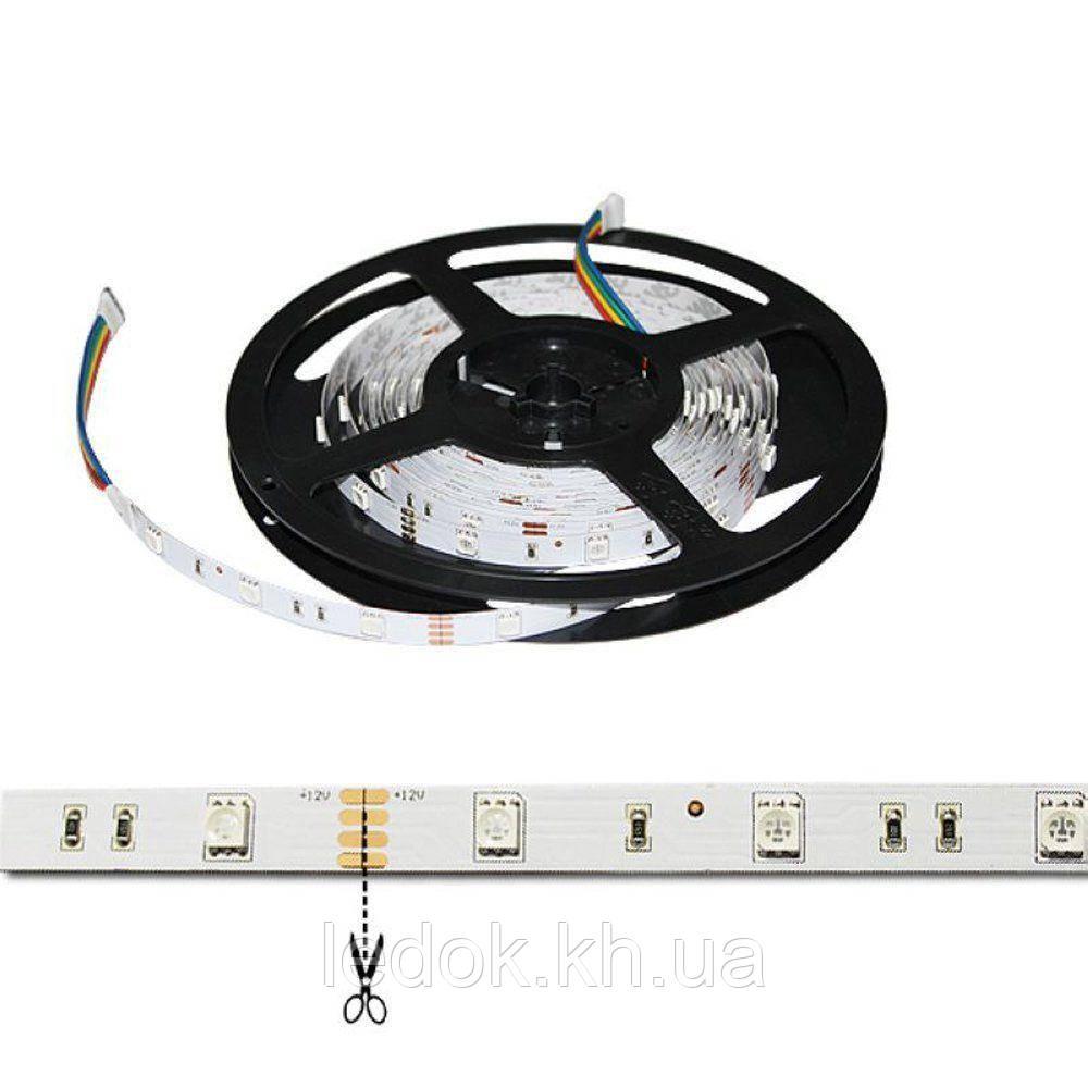 Светодиодная LED лента гибкая 12V PROlum™ IP20 5050\30 Standart