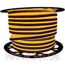 Светодиодный LED гибкий неон PROLUM™ 2835\120 IP68 220V, Желтый