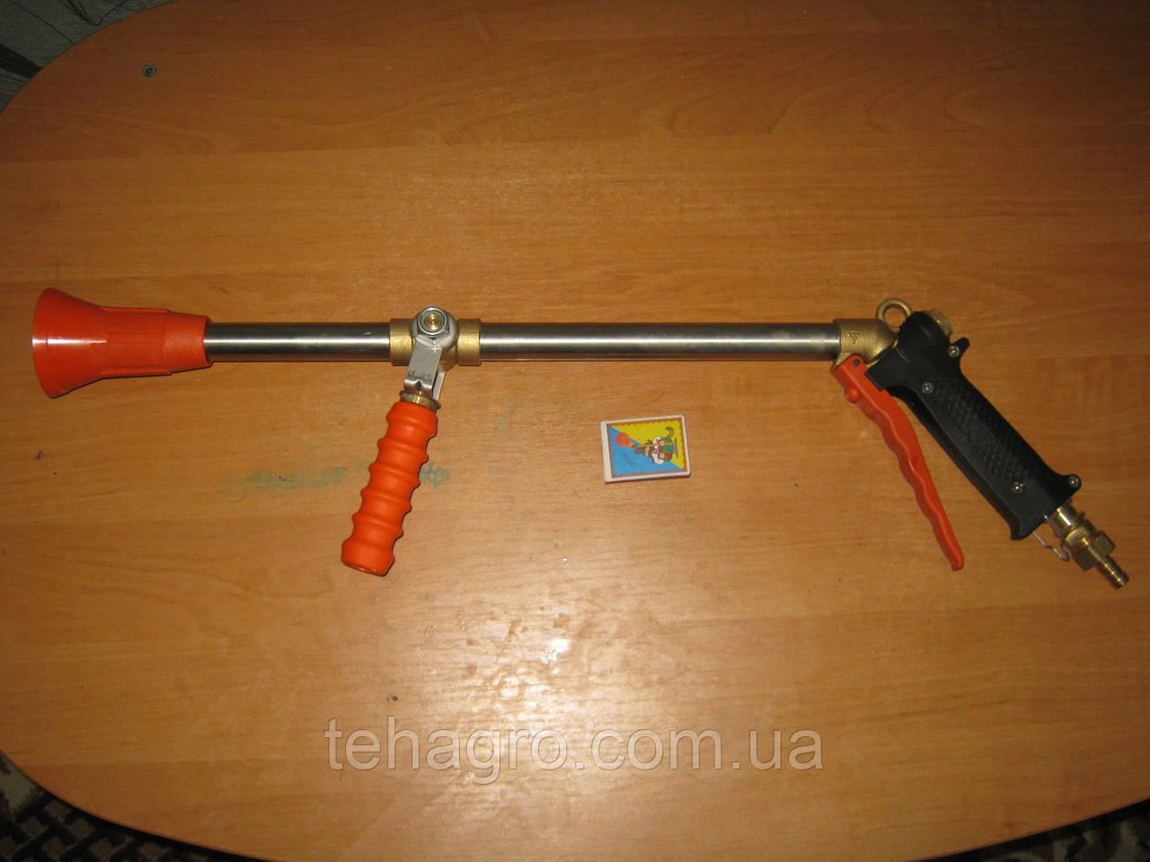 Садовый пистолет (автомат) . Дополнительное оборудование для садового и полевого опрыскивателя. Брандсбойд.