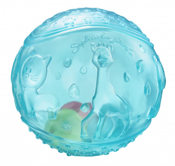 Vulli - Мячик с погремушкой Жирафа Софи, голубой