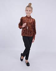 Детская нарядная блузка от Bear Richi для девочки 782630,  134-158, фото 3