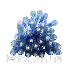 Светодиоды быстрого монтажа PROLUM D-9mm 12V, Синий, Синий