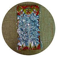 Бантик на елку (серебро) 12шт