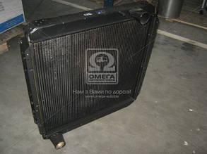 Радиатор водяного охлажденияКАМАЗ 5320 (3-х рядный) (производитель г.Бишкек) 145.1301010-01