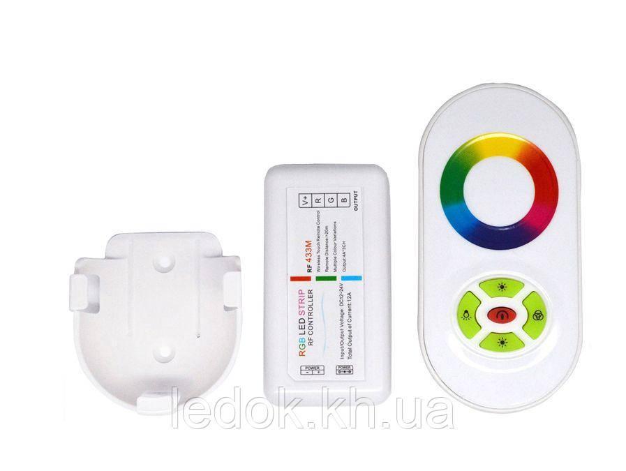 Контроллер RGB PROLUM (RF 5K сенсорный 18A с креплением)