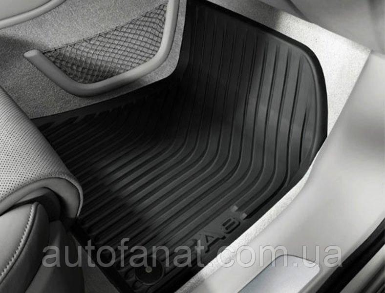 Коврики в салон Audi A8 (D4) резиновые (не Long)