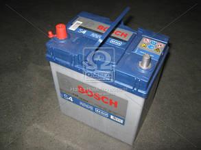 Аккумулятор 40Ah-12v BOSCH (S4019) (187x127x200),L,EN330(Азия)тонкойклемы 0092S40190