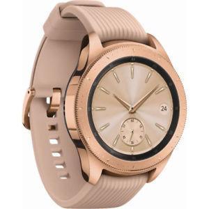Умные часы  Smart Watch Samsung Galaxy Watch 42mm Rose Gold SM-R810NZDA LTE 270 мАч