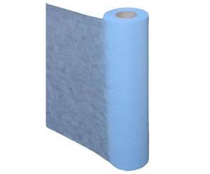 Простынь одноразовая в рулоне 0.6х100 м голубая