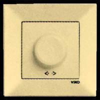 Димер Светорегулятор 600w viko Meridian (Крем)