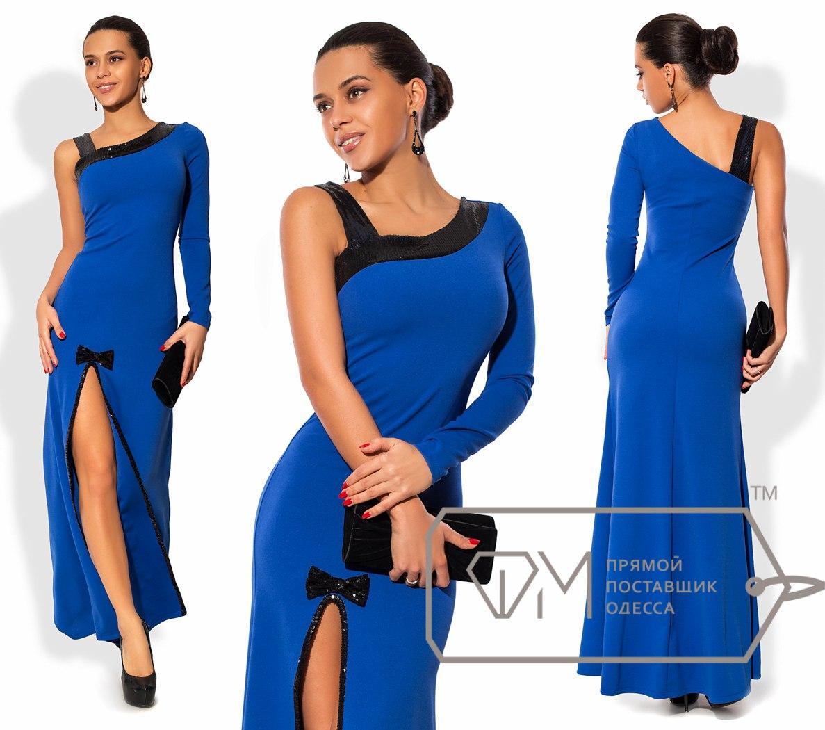 a10e5dfe6ed7f7f Вечернее платье с разрезом на ноге - All You Need - прямой поставщик  женской одежды оптом