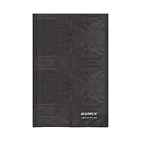 Покрывало ROMIX влагостойкое 140 х 170 Черное