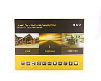 Регистратор DVR CAD 1204 AHD, 4-х канальный, стандарт сжатия видео H.264, возможность установки HDD, аналоговое видеонаблюдение, видеорегистратор