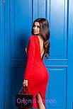 Женское трикотажное платье с открытой спиной (3 цвета), фото 7