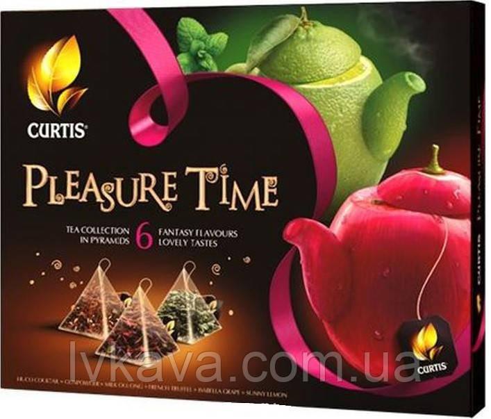 Чайное ассорти Pleasure Time  Curtis в пирамидках, 30 пак
