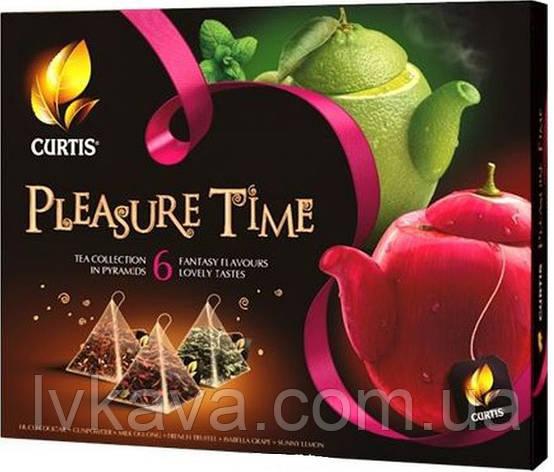Чайное ассорти Pleasure Time  Curtis в пирамидках, 30 пак, фото 2