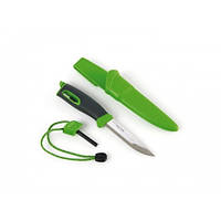 Туристический нож-огниво Light My Fire Swedish FireKnife Зелёный