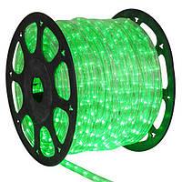 Дюралайт зеленый 100 м 2WRL двухжильный пвх трубка LED light