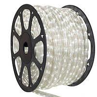 Дюралайт белый 100 м 2WRL двухжильный пвх трубка LED light