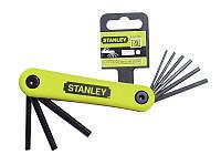 Набор из 9-ти торцевых шестигранных складных ключей дюймовых STANLEY 4-69-259