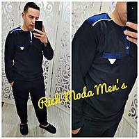 Теплая флисовая мужская пижама Турция 1079
