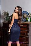 Женское замшевое платье с чашками (4 цвета), фото 7
