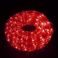 Дюралайт светодиодный красный, 10 м.