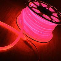 Светодиодный гибкий неон красный, 100 метров, фото 1