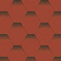 Битумная черепица Aquaizol Мозаика Красный мак