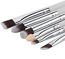 Набор кистей для макияжа 6 штук (белые), фото 3