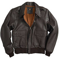 Куртка Alpha Industries A-2 Leather Jacket