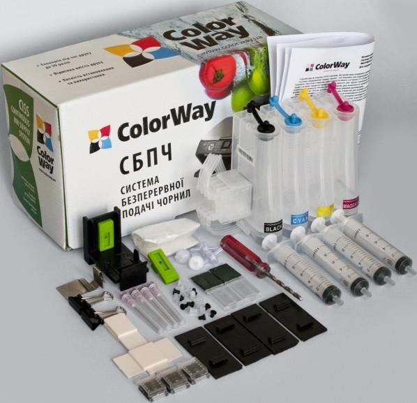 СНПЧ ColorWay HP 121/122/650, з демпфером, без чорнил (H121CN-0.0 NC)