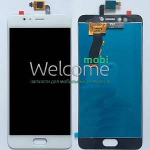 Модуль Meizu M5s white дисплей экран, сенсор тач скрин Мейзу, фото 2