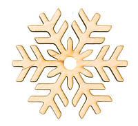 Заготовка для декора Снежинка 8 , фанера,Д:8см,Rosa Talent 4801517