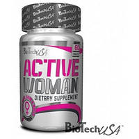 BioTech Витамины и минералы для женщин Active Woman (60 tab)