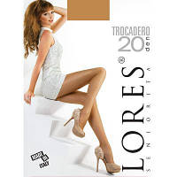 Колготки Lores Колготки plus size LORES (ЛОРЕС) DB-Trocadero-20-camel-XL