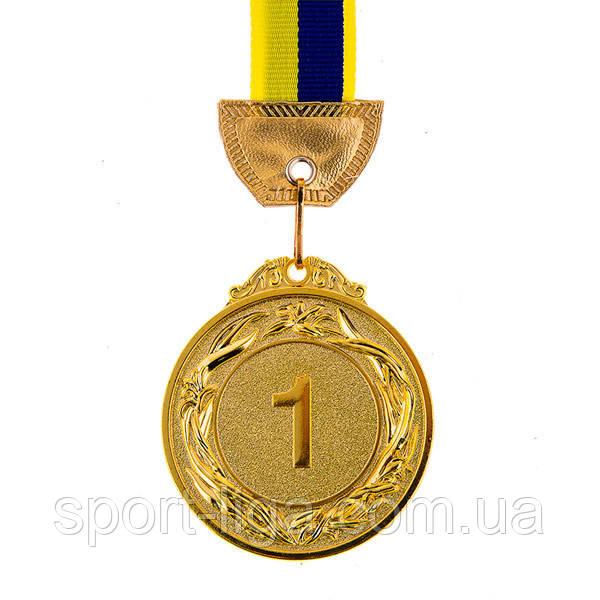 Нагородна Медаль з стрічкою d=60 мм