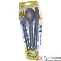 Набор столовых приборов Sea To Summit Alpha Light Cutlery Set 3pc (Knife, Fork and Spoon)