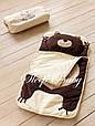 """Дитячий сліпік/спальник для сну і відпочинку не роз'ємний """"Ведмідь"""", фото 3"""