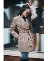 Пальто женское кашемир НТ499, фото 1