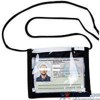 Прозрачный чехол для документов Tasmanian Тiger ID Holder black/khaki Чёрный