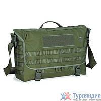 Плечевая сумка с органайзером Tasmanian Tiger Snatch bag black/cub Зелёный