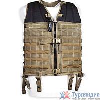 Легкий базовый разгрузочный жилет Tasmanian Tiger Vest Base cub/olive/khaki Dark Khaki
