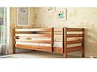 Ліжко дитяче в дитячу кімнату з натурального дерева Л-135 Скіф, фото 3
