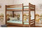 Двоярусне ліжко в дитячу кімнату з натурального дерева Л-302 Скіф, фото 3
