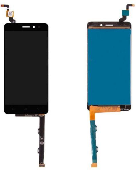 Модуль Lenovo K6 (K33a48), K6 Power (K33a42) grey дисплей экран, сенсор тач скрин Леново К6