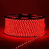 Світлодіодна стрічка SMD 2835 (60 LED/m) IP68 220V Premium червона