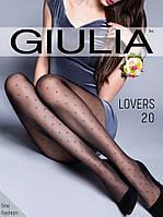 1aa58d6fb122 Фантазийные колготки Giulia Amalia 20 Den с узором в крупный горох ...