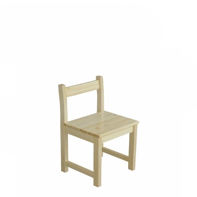Дитячий стілець з натурального дерева С-2 Скіф