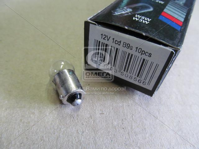 Лампа А12-1 ВА9S /инд.уп./ (Tes-Lamps) 2680003